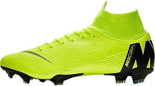 Nike Superfly 6 Pro FG Mens Football Boots AH7368 Soccer Cleats (UK 9.5 US 10.5 EU 44.5, Volt Black 701)