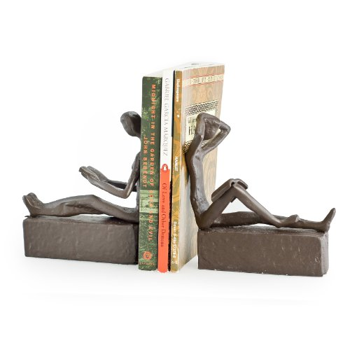 These bronze bookends are a perfect traditional bronze 8th anniversary gift for your partner