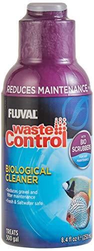 Fluval Waste Control Biological Cleaner, Aquarium Water Treatment, 8.4 Oz., A8355