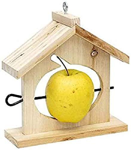 Verdemax 5722 18 x 6 x 20 cm Bois de pin Mangeoire pour Apple
