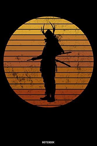 Notebook: Samurai Journal | Samurai Warrior Notebook | Gift idea for Japanesse Culture lovers | Bushido composition book | Ninja zen writing book | Birthday present