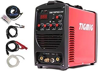 Soldador inverter TIG pulsado TM 170 Pulsaciones HF Start IGBT profesional Wig