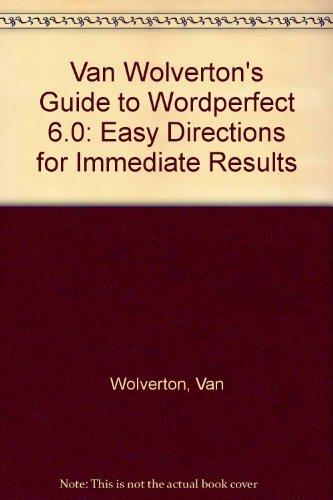VAN WOLVERTON GUIDE TO WORDPER