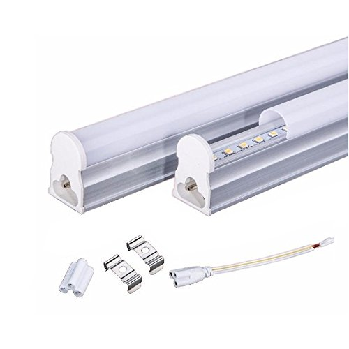 LED Leuchtstoffröhre Komplett Set mit Fassung 60/120/150cm T8 Lichtleiste Röhre 9W/18W/23WWarmweiß / Neutral/Kaltmontagfertig (120cm Warmweiß)