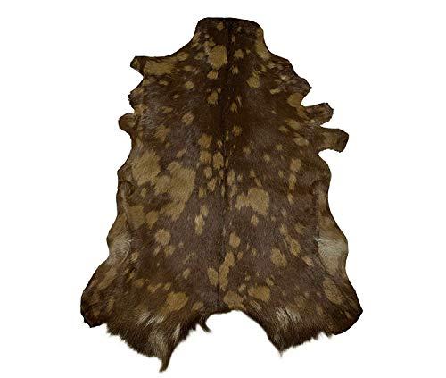 Zerimar Alfombra Piel de Cabra Natural Premium | Medidas: 100x65 cms | Alfombra Salón | Alfombra Decoracion | Alfombra Dormitorio