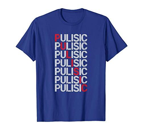 USA Chelsea Soccer Fan Gift American Pulisic London Blues T-Shirt