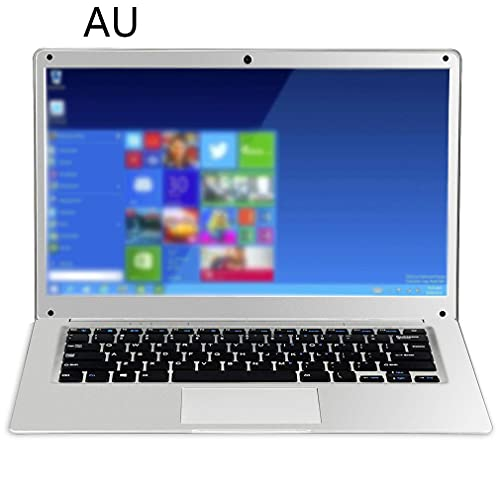 Portátil portátil Fino y Ligero de 14 Pulgadas, 2 GB + 32 GB, Borde Estrecho, estándar Australiano Plateado