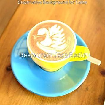 Superlative Background for Cafes