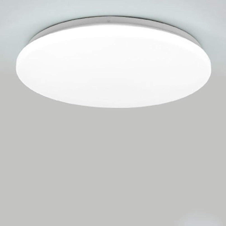 JIUHommesG 48W rond imperméable à l'eau LED Plafonnier moderne Blanc Naturel Applicable à la salle de bain la cuisine le salon le balcon et le couloir Plafonnier Lampe plafond