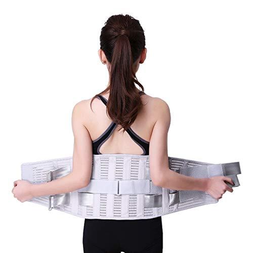 ZFF Cinturón Lumbar Caliente Protector Cintura Hernia Disco Respirable Soporte Hombres Mujer (Size : XXL/XX-Large)