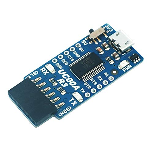 FTDI FT232 USB to UART Converter for PC to Communicate with Microcontroller