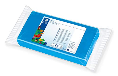 STAEDTLER 8421 Noris Club Plastilin-Knete, 1000 g, blau