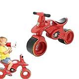 Draisienne Moto bébé - véhicule bébé 12-24 mois Racing - look sport - roues larges, stables et sécuritaires