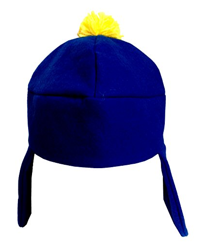 MyPartyShirt Ski Cap Craig Tucker South Park Costume Hat Polaire Bleu Comedy Central TV