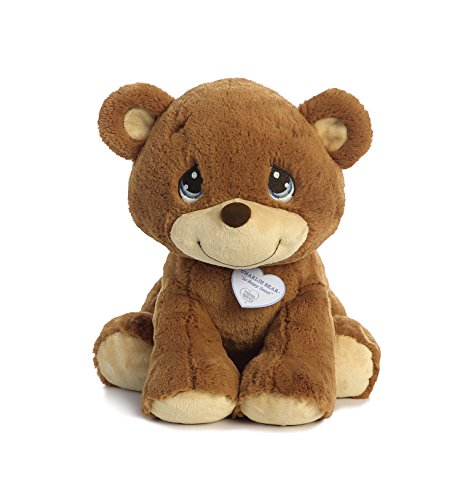 Aurora World Precious Moments Charlie Bear, So Beary Sweet, Brown, 15