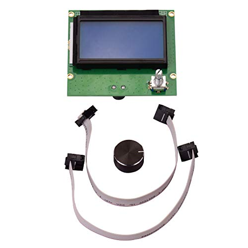 Aibecy 3D-Drucker Teile 12864 LCD-Bildschirm mit Kabel Ersatz für Creality CR-10 CR-10S S4 S5 Ender 3 3D-Drucker