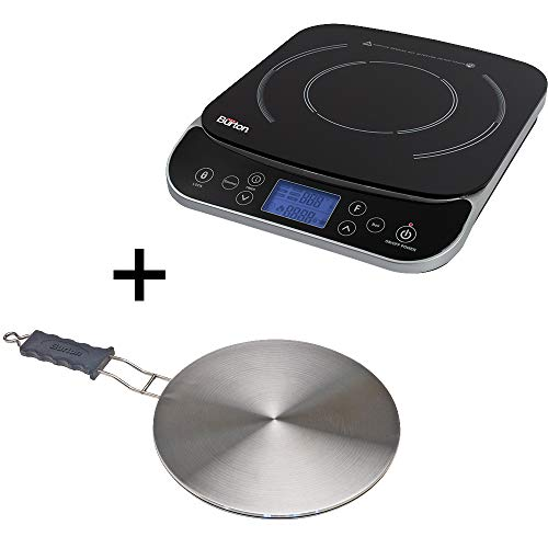 Max Burton Induction Bundle - 6450 Induction Cooktop & 6010 Interface Disk