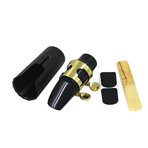 ammoon® Saxo Soprano Plástico de Boquilla de Saxofón con