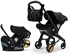 Doona Car Seat & Stroller, Safe and Supportive Travel System - Midnight Edition