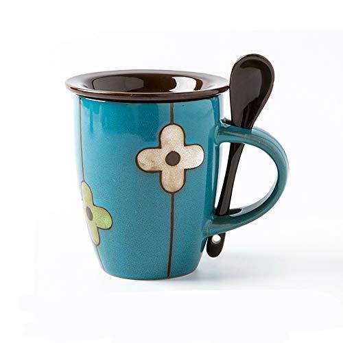 MSNLY Kaffee europäischen Stil kleinen Löffel Tasse Trinken spezielle Tasse Mode koreanische Version der hängenden Ohr Single mit weiblichem Arbeiten