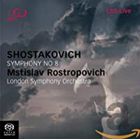 MSTISLAV ROSTROPOVICH - SHOSTAKOVICH SYMPHONY NO 8