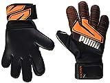 PUMA Ultra Protect 3 Jr RC Guantes De Portero, Unisex Adulto, Shocking Orange White Black, 5