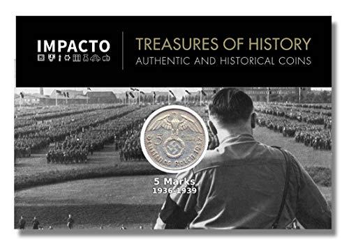 IMPACTO COLECCIONABLES Monedas Antiguas - Alemania, 5 Marcos 1936/9. La Plata del...