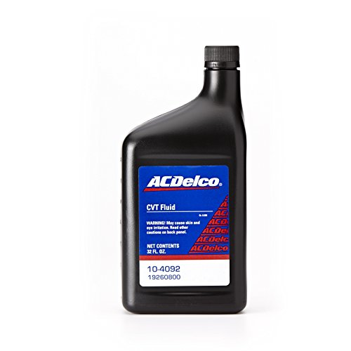 ACDelco GM Original Equipment 10-4092 CVT (Continuously Variable Transmission) Automatic Transmission Fluid - 32 oz