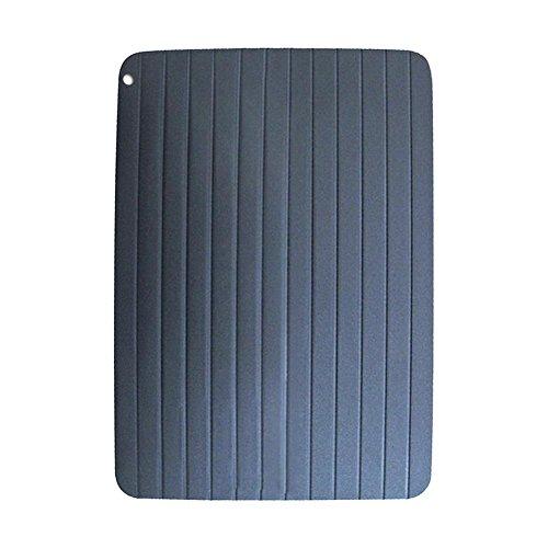 Auftauschale, Schnellauftauplatte Auftauen mit Filter Langsieb Sieb Tiefkühlkost Auftauplatte Auftauen Natürliche Heizung für Fleisch und Tiefkühlkost Kein Strom erforderlich
