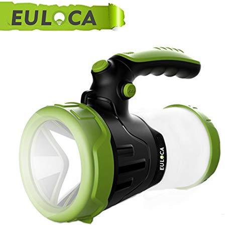 EULOCAlinterna de Camping Recargable LED Regarcable con 3 Modos, Impermeable...