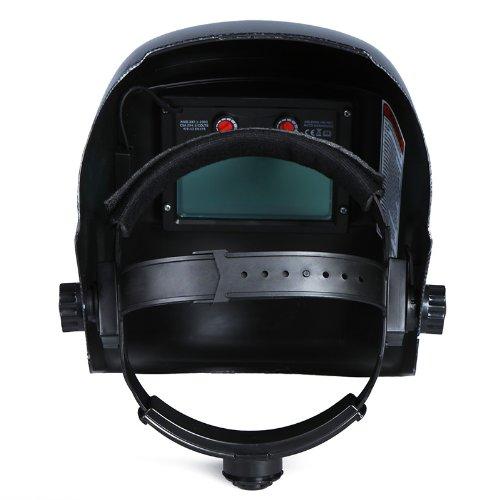 KKmoon自動遮光溶接面溶接ヘルメット溶接マスク自動フィルターアークティグミグ研削太陽光発電