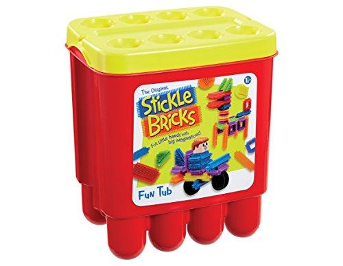 Stickle Bricks TCK07000 Hasbro Stick Fun Tub, Multi-Color