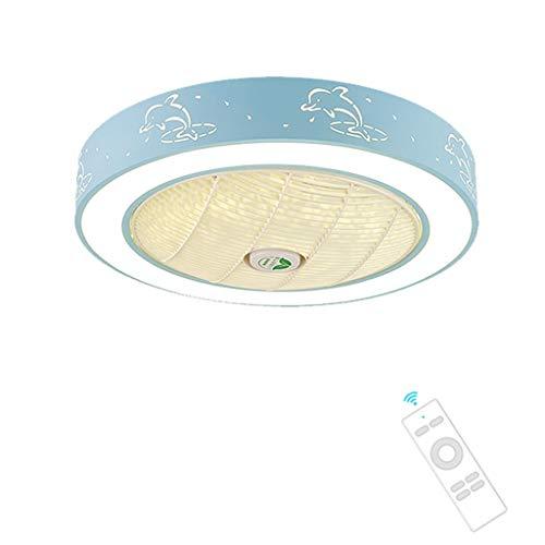 Ventiladores de techo con lámpara Ventilador De Techo Luces |Inicio De La Sala De Techo Invisible De Las Luces del Ventilador |Comedor Lámparas Decorativo De La Sala |Lámparas Dormitorio De Los Niños