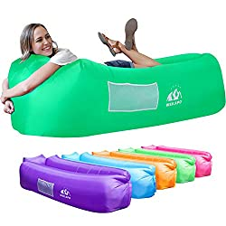 music festival essentials: inflatable lounger/blow up sofa/ air couch