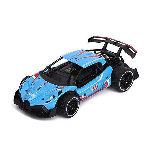 Fernbedienung Auto, 2WD RC Auto 18 + km/h High Speed Racing Auto mit blauem Akku für Autos, 2,4 GHz Fast Racing Drifting Buggy Hobby Elektroauto Alle Terrain Spielzeug Trucks für Erwachsene & Kind