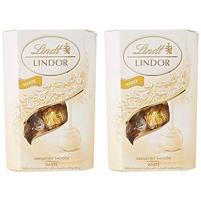 lindt lindor white chocolate truffle cornet box (2 x 200g) Lindt Lindor White Chocolate Truffle Cornet Box (2 x 200g) 41u8yapK7oL