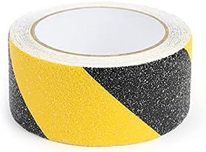 Marwotec, antisliptape, 5 meter, zwart/geel, trap, 5 cm x 5 m, antisliptape met antisliplaag, zwart/geel
