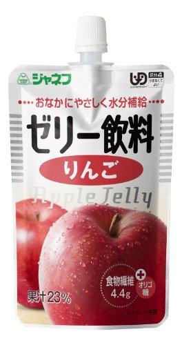 ジャネフ ゼリー飲料 りんご 100g×8個 【区分4:かまなくてよい】