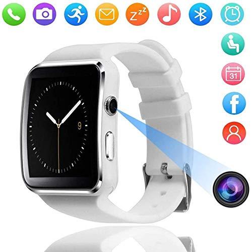 FBN X6 Smart Watch, 1,54 Zoll IPS Touchscreen Wasserdichtes Smartwatch-Telefon Mit SIM-Kartensteckplatz, Mit GPS, Kamera, Musik, Schrittzähler.