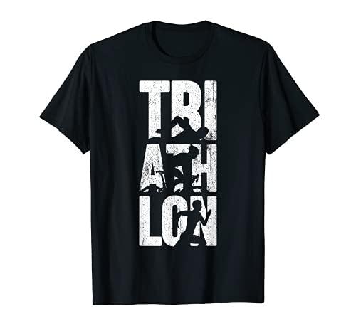 triathlon athlète triathlète coureur nageur cycliste T-Shirt