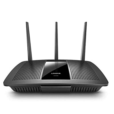 Linksys EA7500-RM2 AC1900 (Max Stream EA7500) Dual Band Wireless Router, Compatible with Alexa (Renewed), Black