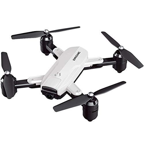 ZHCJH Izzya Drone Plegable HD 4K GPS WiFi Cámara Fotografía aérea Quadcopter, 50x Zoom Smart Follow Return Home con batería Baja para niños y Adultos