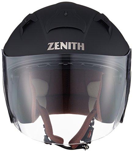 ヤマハ(YAMAHA)バイクヘルメットジェットYJ-14ZENITHサンバイザーモデル90791-2281MラバートーンブラックM(頭囲57cm~58cm)