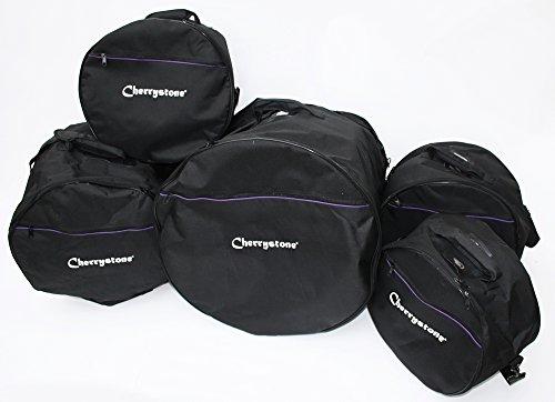 5 Schlagzeugtaschen, Gig Bag Drum Set, 5 teilig von Cherrystone