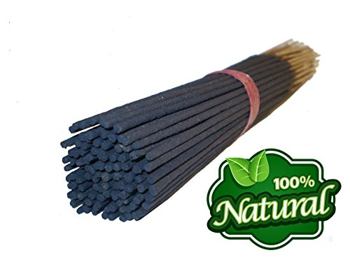 Bless-Frankincense-and-Myrrh 100%-Natural-Incense-Sticks Handmade-Hand-Dipped The-Best-Woods-Scent (100 Incense Sticks, Without Incense Holder)