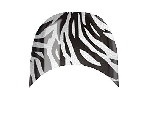 Nagelfolien/Frenchnails/Finger/Crazy Zebra- selbstklebend mit individuellen Designs by Glamstripes- made in Germany. 12 Nail Wraps äußerst strapazierfähig mit langer Haltedauer