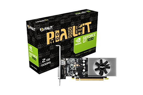 Palit GeForce GT 1030 2 GB GDDR5 PCI Express 3.0 Low Profile scheda grafica – nero