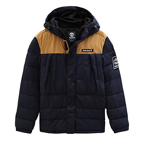 Timberland Herren Steppjacke O-A Puffer Jacket A1WYY Dark Saphir/Wheat Bt L