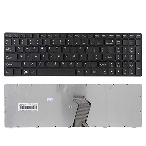 Socobeta Keyboard Gaming Keyboard Replace Keyboard Illuminated Big Letter Multicolour for Laptop for PC for Notebook