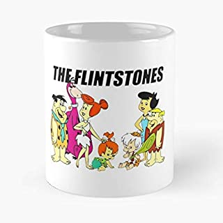 The Flintstones Retro Vintage Cartoon - Morning Coffee Mug Ceramic Novelty Holiday